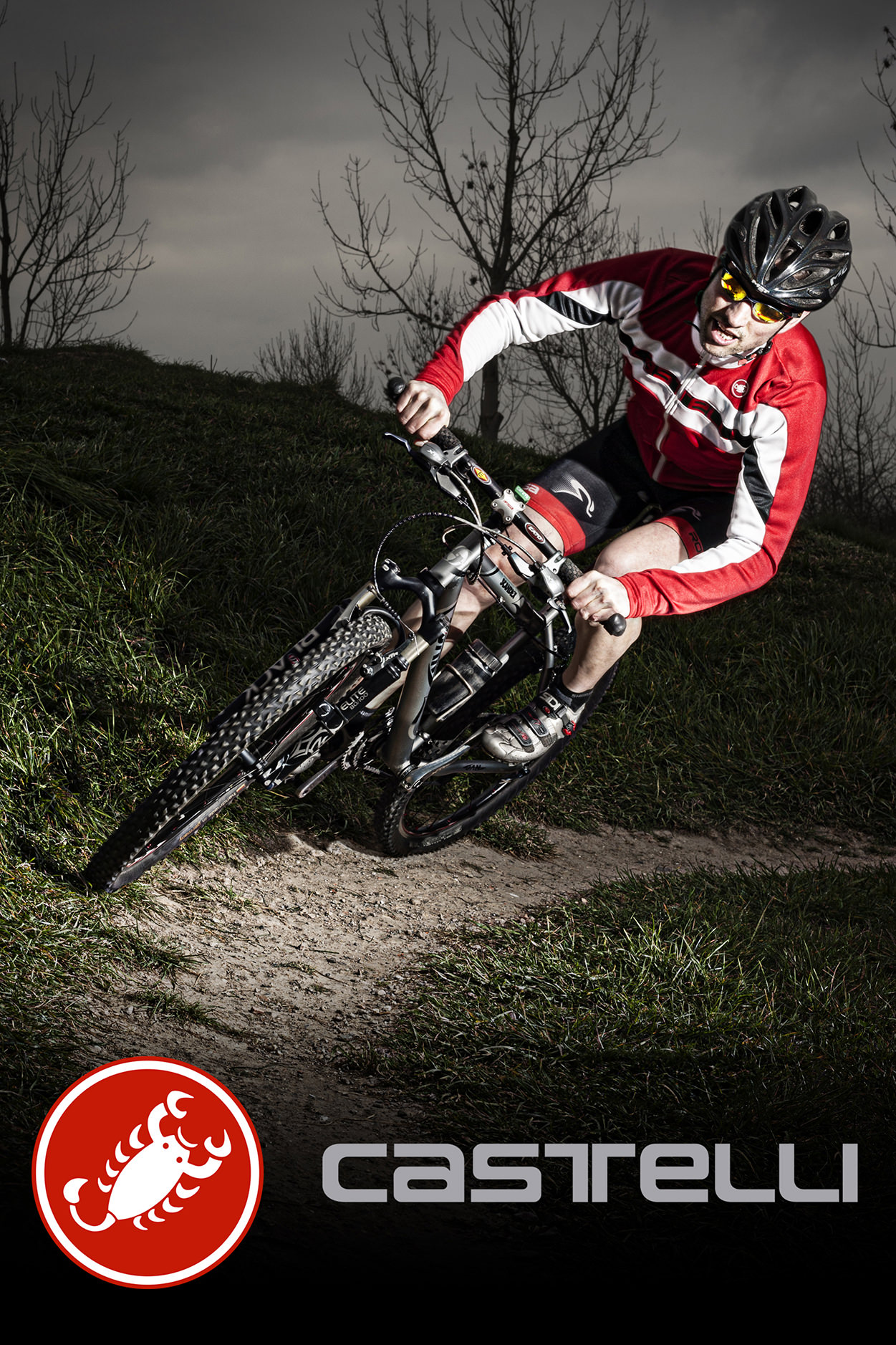 Martijn_Verbaal Visuele Communicatie_Mountainbiker